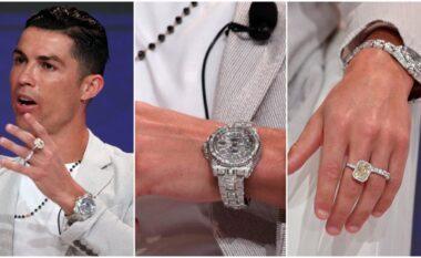 """Unazë diamanti dhe orë """"Rolex"""", zbulohet shifra e çmendur e veshjes së Cristiano Ronaldo (FOTO LAJM)"""