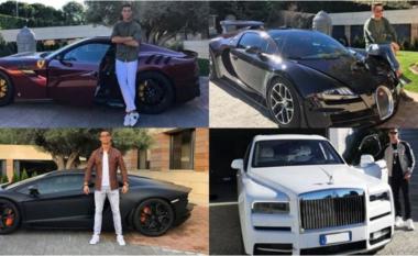 Të ndërtuara me porosi, CR7 mes Ferrarit dhe Rolls Royce (VIDEO)