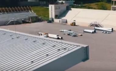 Stadiumi i Kukësit drejt përfundimit, shikoni pamjet më të fundit (VIDEO)