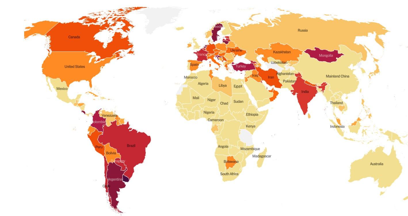 Lajm i mirë! Shqipëria del nga zona e rrezikshme e Covid në botë