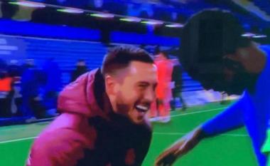 Hazard nuk i ndahet zemra nga Chelsea, feston kualifikimin e Bluve dhe kritikohet nga tifozët (FOTO LAJM)