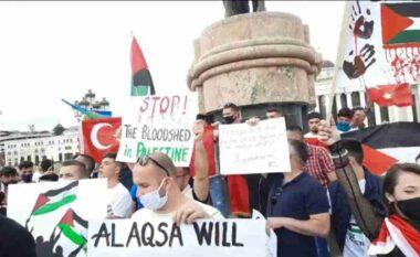 Protestohet në Shkup: Izraeli është duke e prishur ekuilibrin e qenies njerëzore në botë (VIDEO)