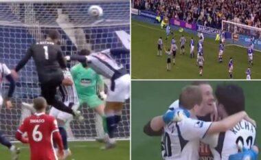 Golat më të bukur të portierëve në Premier League ndër vite (VIDEO)