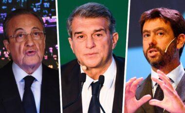 Dridhen Juventus, Barça dhe Real, UEFA zyrtarizon vendimin