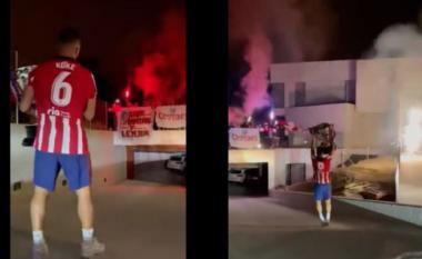 Festa e mahnitshme e Koke, merr Kupën në shtëpi, por surprizohet nga familjarët (VIDEO)