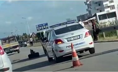Aksident masiv në Golem, 4 makina përplasen me njëra tjetrën