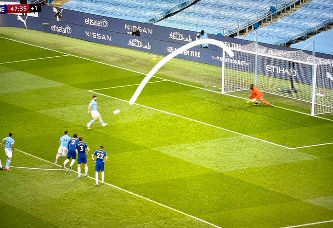 City pati mundësinë e artë për të dyfishuar rezultatin ndaj Chelsea, Aguero e katranos nga 11-metërshi (VIDEO)