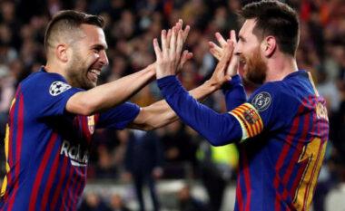 """""""Tremb"""" Jordi Alba: Shpresoj të mos jetë ndeshja e fundit në shtëpi e Messit"""