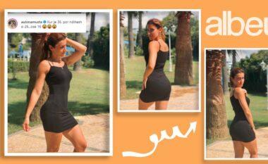 Moderatorja shqiptare lë mënjanë modestinë: 36, por si 16 (FOTO LAJM)