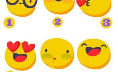 """Zgjidhni një """"emoji"""" dhe zbuloni çfarë lloj personi jeni"""