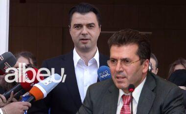 """Lajmëroi futjen në Kuvend, Basha takon """"kokë më kokë"""" Fatmir Mediun"""