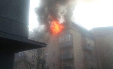 Shpërthen bombola në Lushnjë, apartamenti përfshihet nga flakët