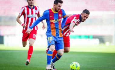 Mbyllet në barazim pa gola pjesa e parë mes Barcelonës dhe Atletico Madridit