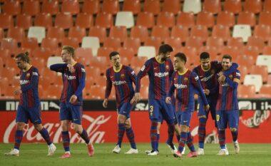 """E """"shtruan"""" te shtëpia e Messit, La Liga heton Barcelonën për thyerjen e protokollit Covid-19"""