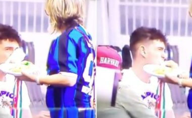 """""""Nuk ka si nëna"""", fitoi titullin kampion në Serie A, talentin e Interit e ushqen mamja (VIDEO)"""