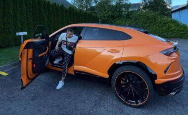Lojtarët shqiptarë të apasionuar pas makinave luksoze, Berisha prezanton Lamborghinin 200 mijë euro