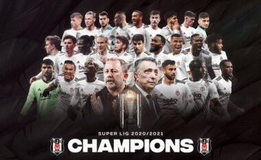 Besiktas nuk gabon, shpallet kampion i Superligës së Turqisë