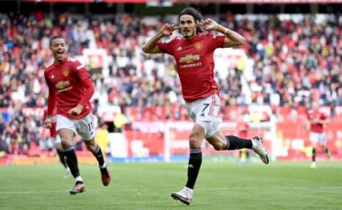 Spektakolar Cavani, Manchester United zhbllokon rezultatin ndaj Fulham (VIDEO)