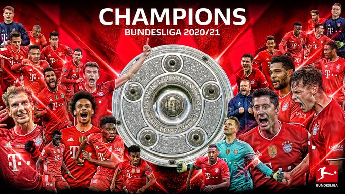 Bayern Munich kampion i Gjermanisë për herë të nëntë radhazi (FOTO LAJM)
