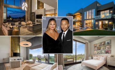 Brenda shtëpisë 17.5 milionë dollarëshe të John Legend dhe Chrissy Teigen (FOTO LAJM)