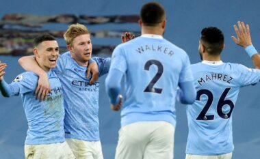 Manchester City fiton pastër në Londër, titulli mund të festohet nesër (VIDEO)