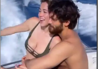 Diletta Leotta në momente intime me aktorin turk (FOTO LAJM)