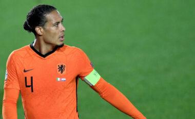"""""""Euro 2020"""" do të luhet pa një nga mbrojtësit më të mirë në botë, Van Dijk jasht"""