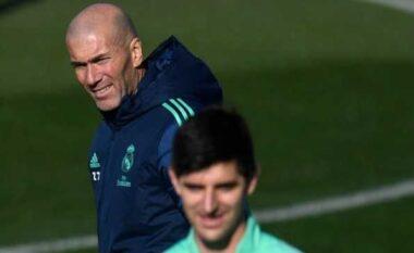 Courtois futbollisti i radhës që reagon pas largimi të Zidane: Ka qenë një nder të kem trajner një legjend si ti