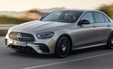 "Mercedes E-Class konfirmohet si ""mbreti"" i autostradës"