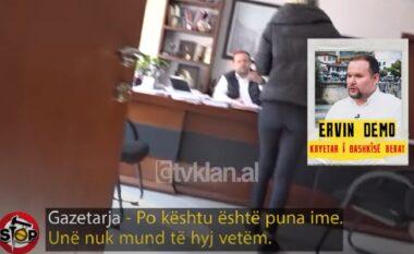E pushuan nga puna, kryebashkiaku i Beratit refuzon të japë përgjigje: Më lër rehat! (VIDEO)
