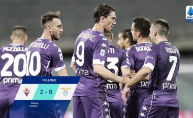 """Lazio nuk ia del përballë Fiorentinës, """"përshëndetet"""" me zonën Champions (VIDEO)"""