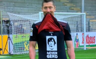 Vjen momenti, Lewandowski thyen rekordin e Gerd Muller (VIDEO)