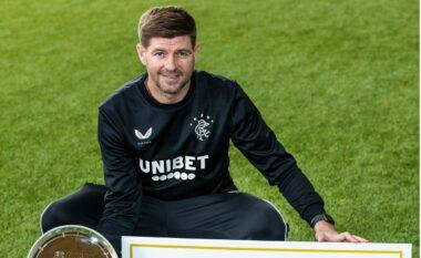 U shpall kampion me Rangers, Gerrard shpallet trajneri më i mirë i vitit në Skoci