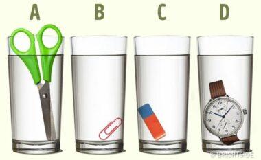 Testi që po habit të gjithë: Cila gotë ka më shumë ujë?