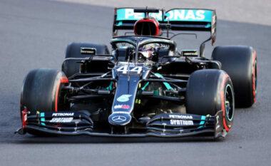 Hamilton në histori, fiton pole-n e 100-ë në karrierë