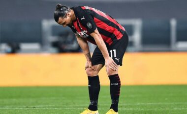 Lajm i keq për Milanin, Ibra mbyll sezonin