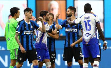 Inter – Sampdoria, formacionet zyrtare