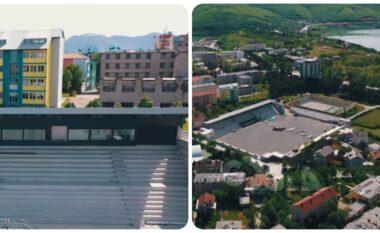 Super stadiumi i Kukësit shumë pranë përfundimit, shikoni pamjet më të fundit (VIDEO)