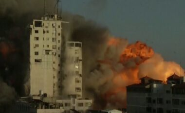 Izraeli shemb me raketa godinën ku ndodhen zyrat e Associated Press dhe Al Jazeera