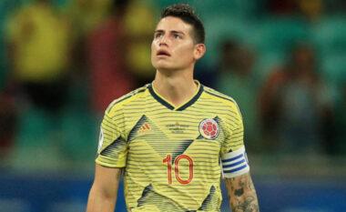 Nuk është në nivelin optimal, James Rodriguez nuk grumbullohet nga Kolumbia për Copa America