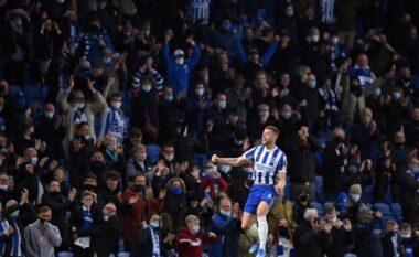 Brighton mposht me përmbysje kampionët e Manchester City-t (VIDEO)