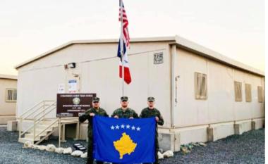 Ushtarët e FSK-së zbarkojnë në Kuvajt së bashku me Ushtrinë Amerikane
