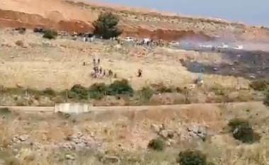Ushtarët izraelitë lëshojnë të shtëna paralajmëruese në drejtim të protestuesve libanezë që kaluan kufirin