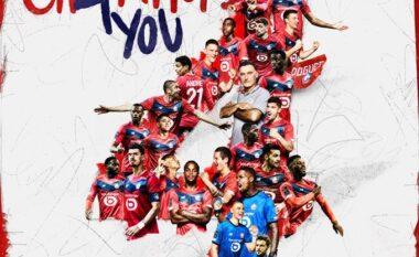 """Lille """"thyen"""" dominimin e PSG, zyrtarisht kampione e Ligue 1 (VIDEO)"""