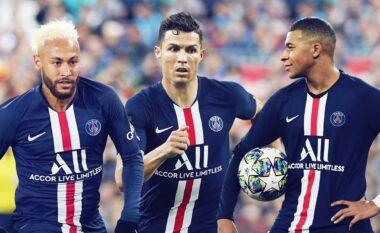 Neymar thërret CR7 te PSG