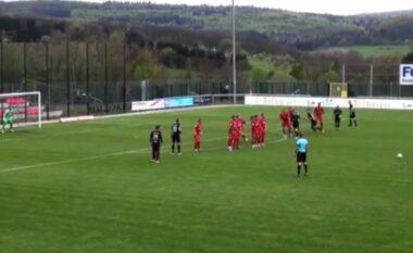 Alban Meha nuk harron të shënojë gola spektakolar edhe pse vitet kalojnë (VIDEO)