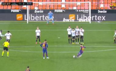Spektakolar Messi, Barcelona shënon golin e tretë (VIDEO)