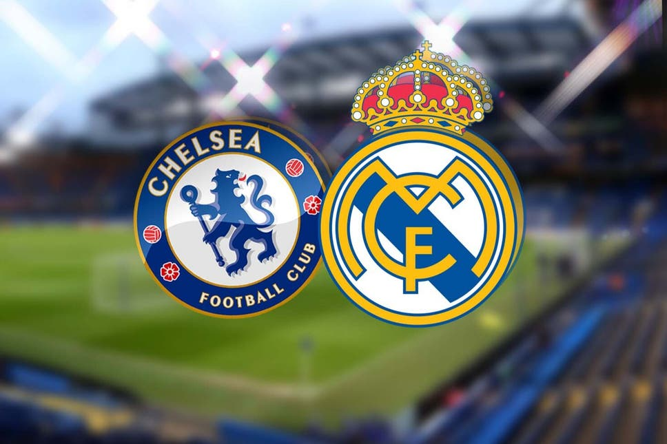 Formacionet zyrtare, Chelsea-Real Madrid