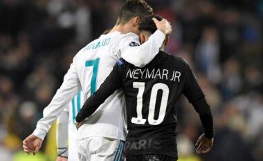 """""""Dua të luaj me Ronaldon"""", Neymar paralajmëron transferimin e CR7 te PSG?"""