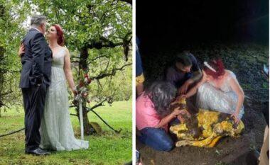 Nusja braktis dasmën e vet, që të ndihmoi një lopë